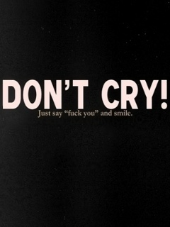 Don't Cry Mobile Wallpaper
