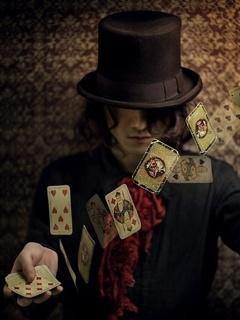 Lets Play Poker Mobile Wallpaper