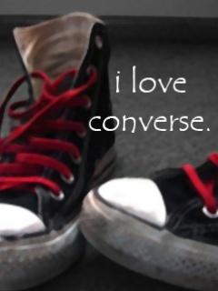 Love Converse Mobile Wallpaper