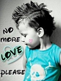 No More Love Please Mobile Wallpaper