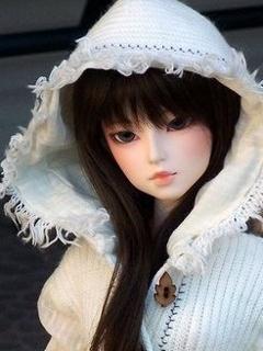 Cuty Doll Mobile Wallpaper