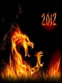 2012 Dragon Mobile Wallpaper