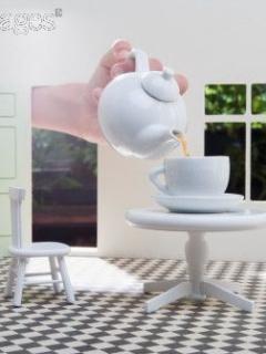 Tea Time Mobile Wallpaper