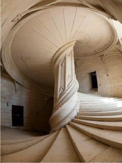 Vinci Staircase Mobile Wallpaper