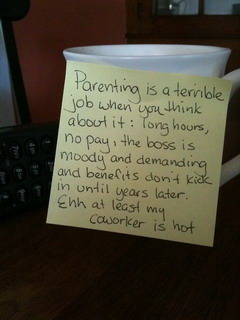 Parenting Is Terrible Mobile Wallpaper