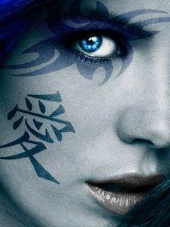 Kate On Face Mobile Wallpaper