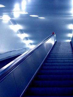 Cool Blue Lift Mobile Wallpaper