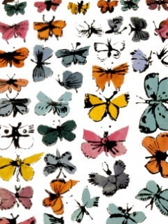 Butterflies Colors Mobile Wallpaper