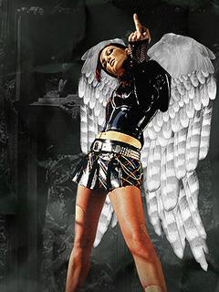 Angel Hell Mobile Wallpaper