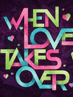 Love Art Mobile Wallpaper