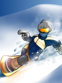 Snow Boarding Mobile Wallpaper