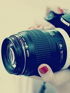 Canon Camera  Mobile Wallpaper