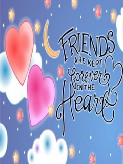 Friends In Heart Mobile Wallpaper