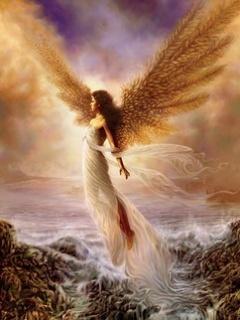 Angel  Mobile Wallpaper