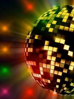 Disco Colors Mobile Wallpaper