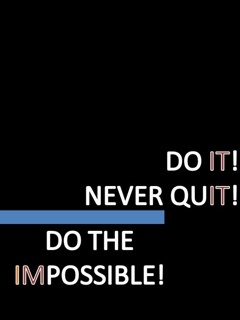 Do The Impossible Mobile Wallpaper