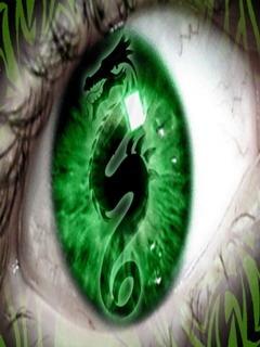 Dragon Eye Mobile Wallpaper