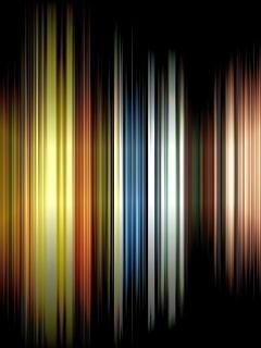 Digital Color Lines Mobile Wallpaper