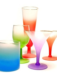 Colors Drinks Glasses Mobile Wallpaper