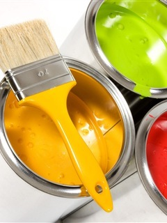 Beautiful Paint Boxes Colors Mobile Wallpaper