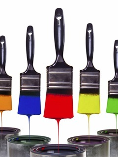 Paint Brushes Mobile Wallpaper