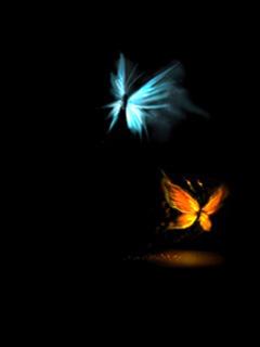 Lovely Butterfly Mobile Wallpaper
