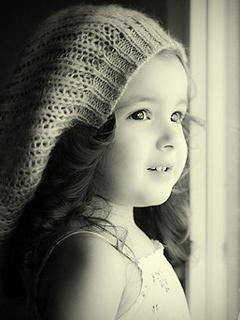 Cute Beauty Baby Girl Mobile Wallpaper