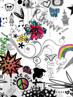 Colorful Arts Design Mobile Wallpaper