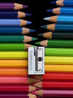 Pencils Zip Mobile Wallpaper