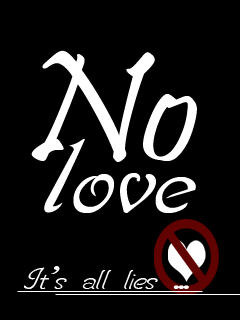 No Love Mobile Wallpaper