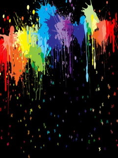Paint Splash Mobile Wallpaper
