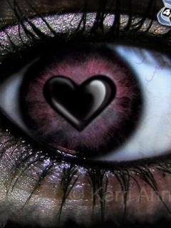 Love Eyes Mobile Wallpaper