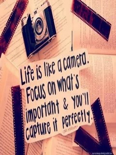 Life Is Camera Mobile Wallpaper