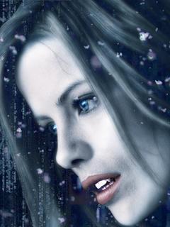 Snow Face Mobile Wallpaper