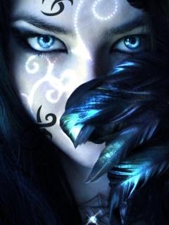 Lady Of Magic Mobile Wallpaper