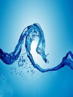 Water Wave Mobile Wallpaper