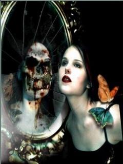 Death Mirror Mobile Wallpaper