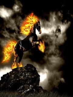 Firehorse Mobile Wallpaper