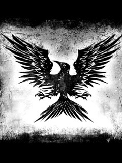 Black Bird Mobile Wallpaper