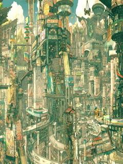 City Life Mobile Wallpaper