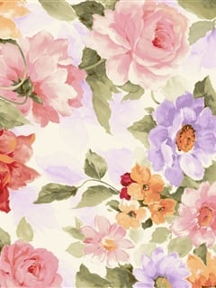 Cute Love Flowers Mobile Wallpaper