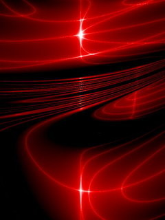 Red Abstract Sun Mobile Wallpaper