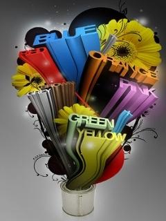Beautiful Colours Mobile Wallpaper