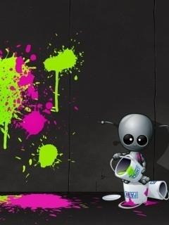 Graffiti Mobile Wallpaper