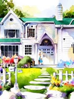Beautiful House Mobile Wallpaper