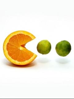 Lemon Eat Mobile Wallpaper