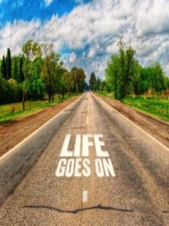 Life Goes On Mobile Wallpaper