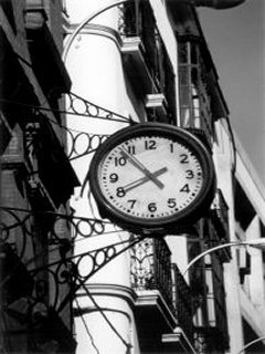 Street Clock Mobile Wallpaper