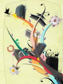 Art City Mobile Wallpaper