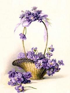 Flowers Basket Mobile Wallpaper